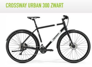 crossway urban zwart