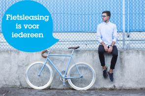 Leas een fiets, een nieuwe fiets zonder direct grote uitgaven. Voor werknemers en werkgevers
